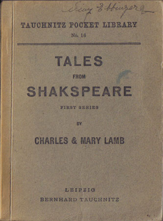 I16 Tales from Shakspeare