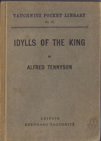 I28 Idylls of the King