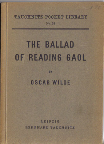 I38 The ballad of Reading Gaol